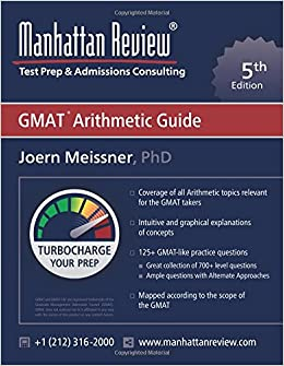 Manhattan Review GMAT Arithmetic Guide [5th Edition]: Turbocharge your Prep