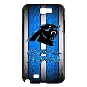 Samsung Galaxy Note 2 N7100 Phone Case Black Carolina Panthers VCN8582267