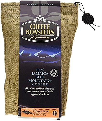 (Coffee Roasters of Jamaica - 100% Jamaica Blue Mountain Coffee (16oz Whole Beans))