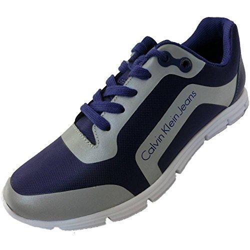 Calvin Klein - Zapatillas para hombre azul turquesa 40