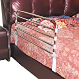 CYYC Barrier Bed Railing, Folding Bed guardrail Side Guard for The Elderly, Adult Handle Handle Hospital Bumper Metal Safety bar (Size : 9550cm)