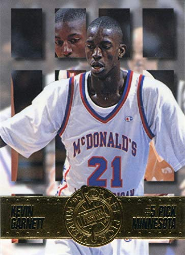 Garnett Draft Kevin - Kevin Garnett 1995 Press Pass Premium Draft Pick Rookie Card