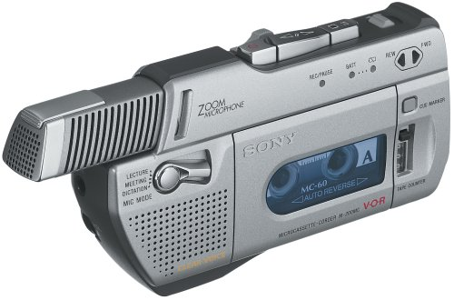 Sony M-200MC Mic' N Micro Microcassette Recorder by Sony