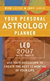 Your Personal Astrology Planner Leo, Rick Levine and Jeff Jawer, 1402741685