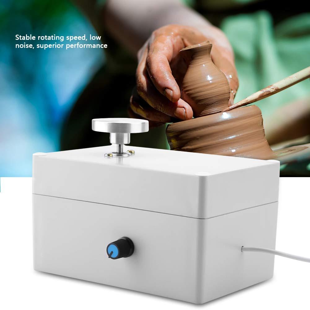 USB Mini Clay Making Pottery Machine DIY Ceramic Throwing Machine Clay Making Pottery Machine 2000RPM by Walfront (Image #1)