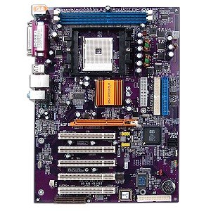ECS 755-A2 SiS755-SiS964 Socket 754 ATX Motherboard with Sound LAN & RAID ()
