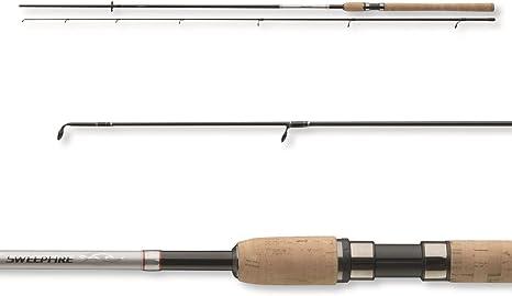 Diawa Sweepfire - Caña de pescar (2 piezas) Talla:2,70 m / 8 - 35g bzw. 9,00 ft / 0,25 - 1,13oz: Amazon.es: Deportes y aire libre