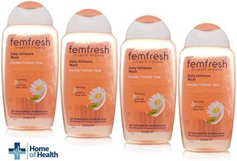 Femfresh 250ml Intimate Hygiene Daily Wash **4 PACK DEAL** by Femfresh