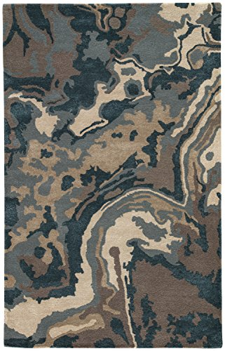 Jaipur Living Alabaster Hand-Tufted Abstract Blue Area Rug (8' X 10') - Alabaster Area Rug