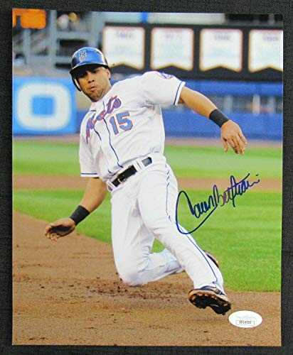 Carlos Beltran Autographed Picture - 8x10 DD14500 - JSA Certified - Autographed MLB Photos