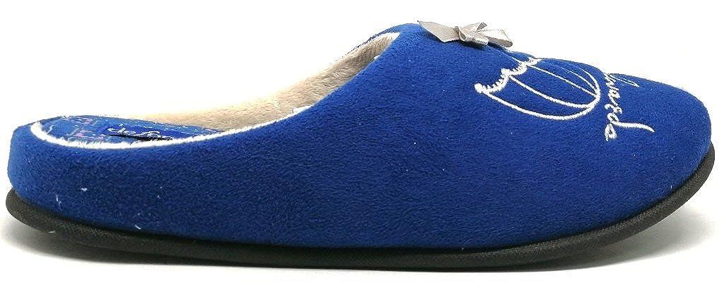 DE FONSECA pantofole ciabatte da donna/ragazza mod. mod. mod. TORINO W217 BLU - 5c18e0