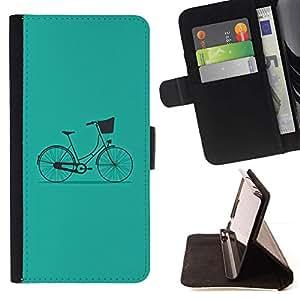 Momo Phone Case / Flip Funda de Cuero Case Cover - Bicicleta del vintage minimalista Hipster - MOTOROLA MOTO X PLAY XT1562