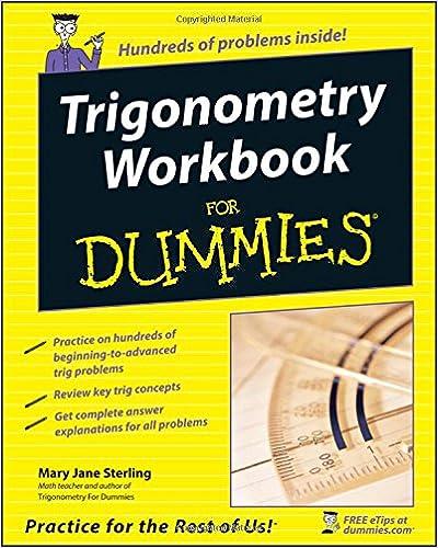 Trigonometry Workbook for Dummies (R)