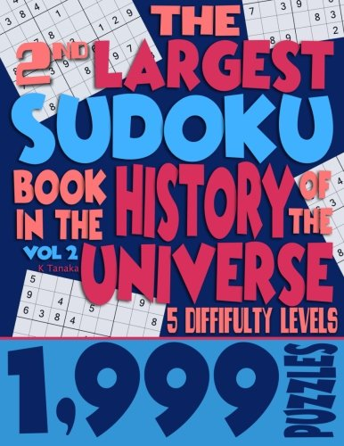 Black History Month Activities (The 2nd Largest Sudoku Book in the History of the Universe: 1,999 Puzzles with 5 Difficulty)