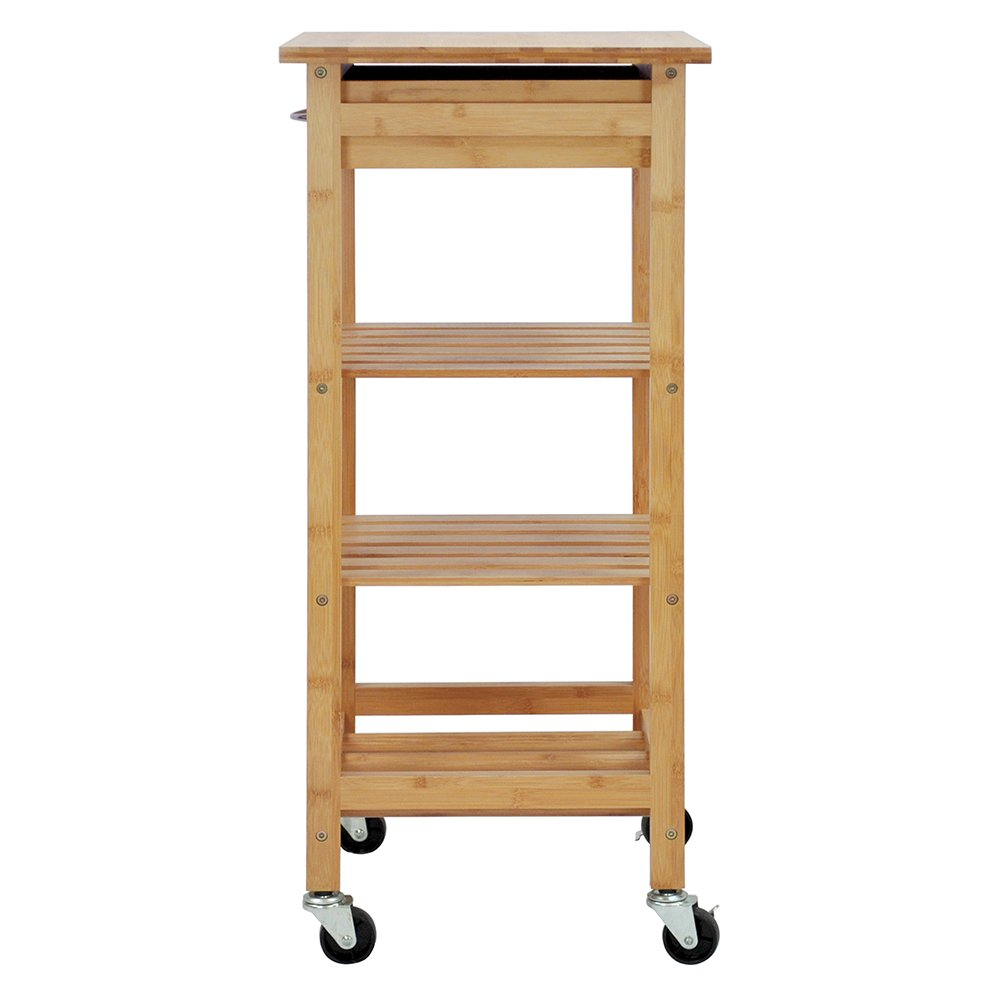 Oceanstar Design Group Bamboo Kitchen Trolley by Oceanstar (Image #7)
