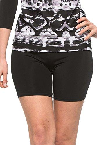 Undercover Waterwear Ladies Black Swim - Swimwear Shorts Bike