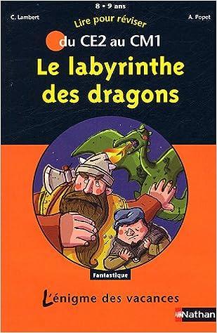 Le labyrinthe des dragons : Du CE2 au CM1 pdf, epub