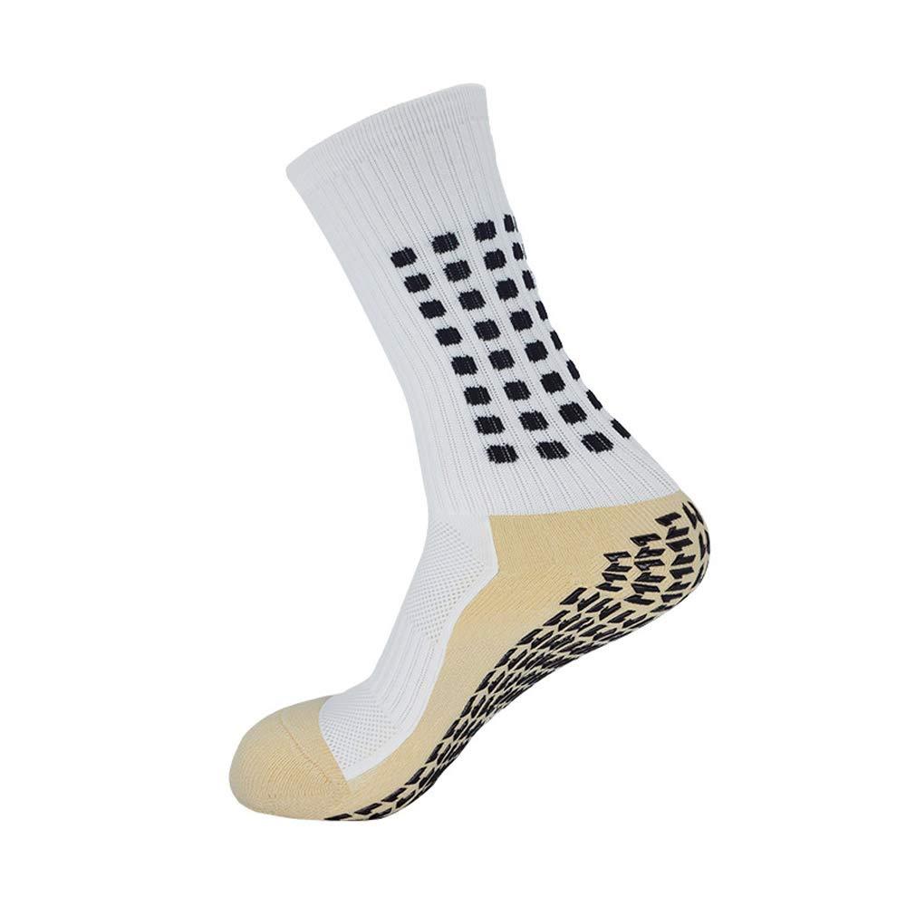 KONLOO SJD415 Lot de 8 chaussettes de football antid/érapantes pour homme