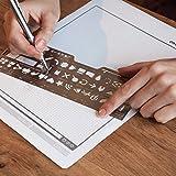 UI PROGO Stainless Steel Stencils for Portable
