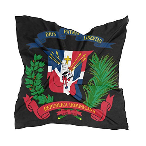 - Coat Of Arms Dominican Republic Flag Square kerchiefs Scarf Bandanas Head & Neck Tie