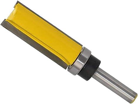 Schaftdurchmesser 8mm 2 Stück Bündigfräser mit Kugellager Unten