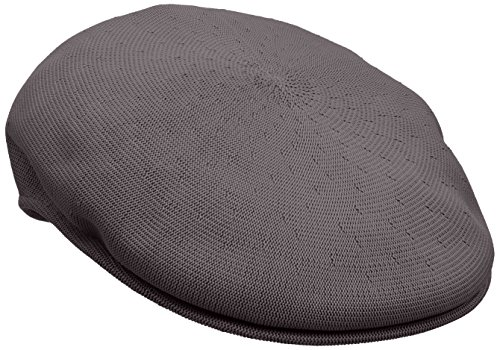 Kangol Men's Heritage Collection Tropic Yarn 504 Classic Hat, Charcoal (Small)
