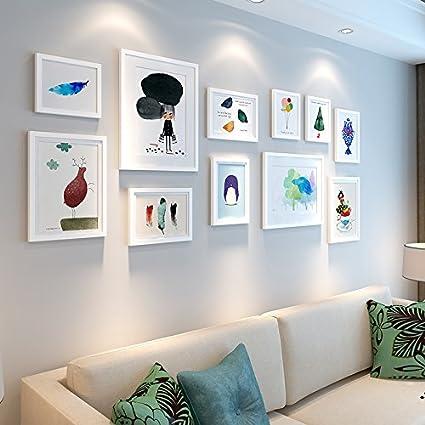 Marco foto creativo conjunto simple moderno Europeo estilo portaretrato portaretrato decorativo de pared de dormitorio de