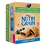 Kellogg's Nutri-Grain Blueberry Flavour 16 Bars (Pack of 3), 2.23 Kg