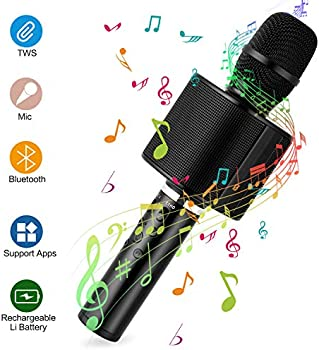 Mbuynow Wireless Microphone with Speaker Loud