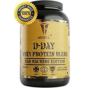 _ANABOLIC_D-DAY WHEY PROTEIN_ Chocolate Whey Protein - Low Sugar Protein Powder - Whey Protein Isolate – TOP RATED - 100 Whey Protein - 100 Whey Protein Powder – EXTREME GAIN - Anabolic Protein