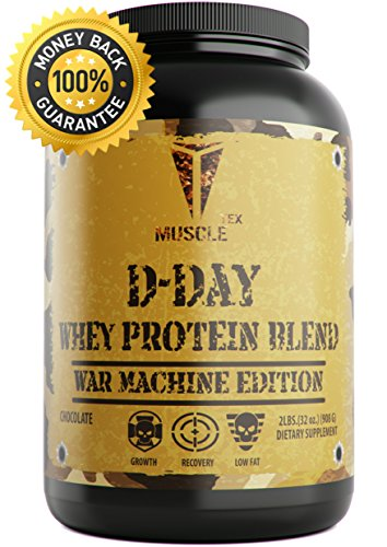_ MUSCLE TEX ANABOLIC_D-DAY WHEY PROTEIN_ GLUTEN FREE protein powder – Chocolate & Vanilla Whey Protein – Low Fat Protein Powder – Whey Protein Isolate – TOP RATED – 100 Whey Protein