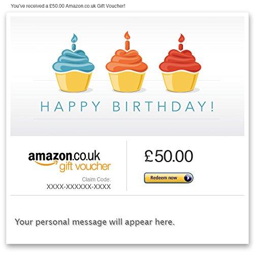 E-mail Amazon.co.uk Gift