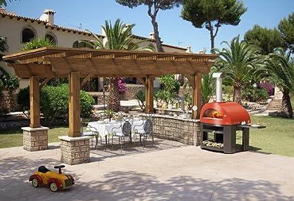 Allegro AlfaPizza amarillo para horno al aire libre Pizza - madera ...