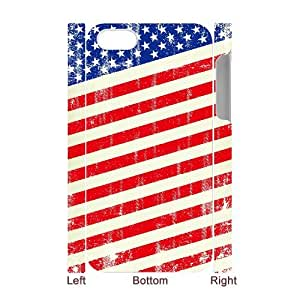 Winfors American Retro Flag Phone 3D Case For Iphone 4/4s [Pattern-4]