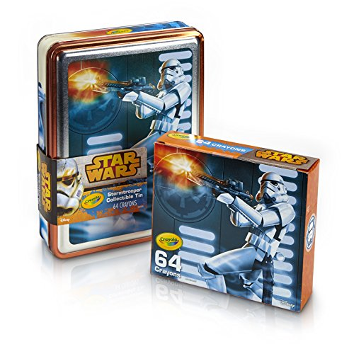 Crayola Star Wars Storm Trooper Collectible Tin
