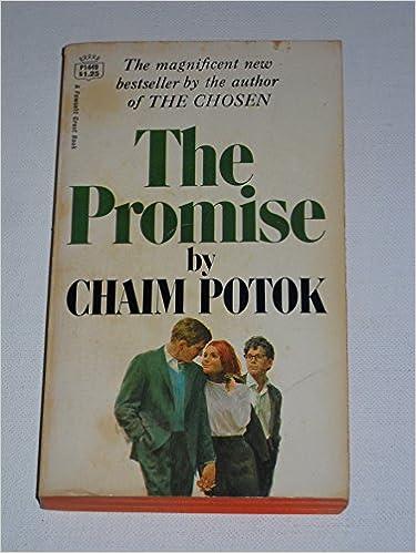 The promise chaim potok amazon books fandeluxe Gallery