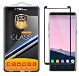 [2 Pack] LG G7 Screen Protector, [Full Cover] Ferlinso Tempered Glass with Lifetime Replacement Warranty for LG G7 (Black)