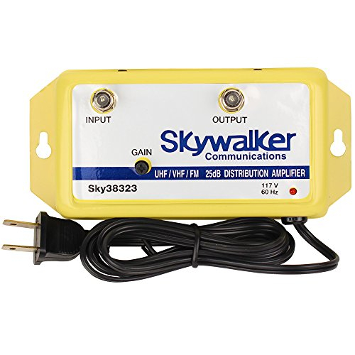 Vhf Amplifier - Skywalker Signature Series SKY38323 25dB Amplifier VHF/UHF/FM w/variable gain (SKY38323)