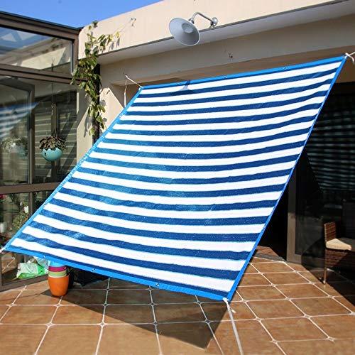 AntCompany Arte del Giardino Rete di Protezione Solare per Giardinaggio 2  3m, Strumento per l'impermeabilizzazione di ombrelloni per balconi da Giardino, Materiale in PE Pratico