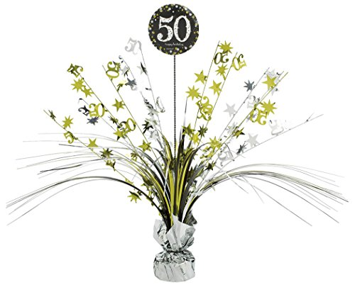 50 Centerpiece Spray (Celebration 50 Spray Centerpiece)