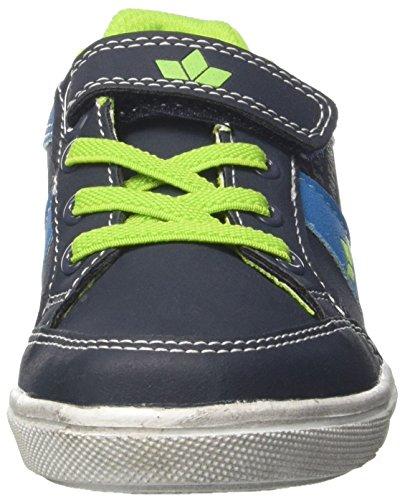 GEKA Club Vs, Zapatillas Para Niños Azul (Marine/blau/lemon Marine/blau/lemon)