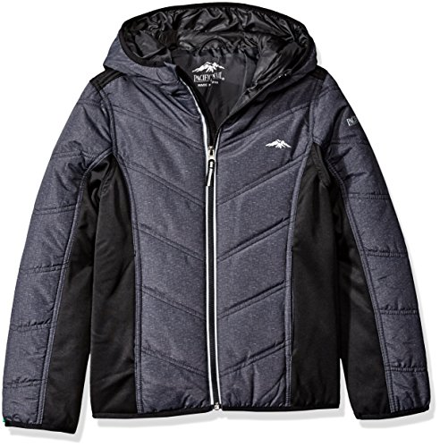 Pacific Trail Big Boys' Mid Weight Soft Shell Jacket, Hea...