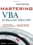 Mastering VBA for Microsoft Office 2007, Richard Mansfield, 0470279591