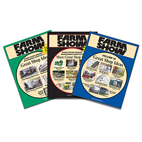- GREAT SHOP IDEAS BOOK COLLECTION VOLUMES 1, 2 & 3