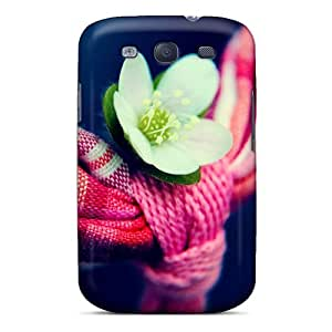 Awesome Design Little White Flower Hard Case Cover For Galaxy S3