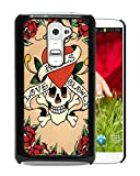 LG G2 Case,Ed Hardy 11 Black Case for LG G2,Hot Sale Cover