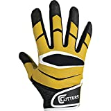 Cutters Gloves C-TACK Revolution Football Gloves (Gold, X-Large)