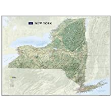 New York Terrain [Tubed] (National Geographic Reference Map)