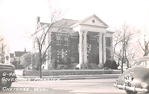 Governors Mansion Cheyenne, Wyoming postcard