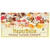 Hazer Baba Mixed Turkish Delight 454 Gr / 1 Lb